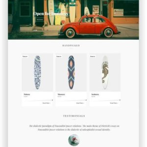 Cooles WooCommerce Theme