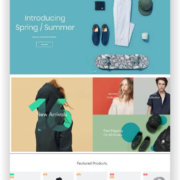 Modernes WooCommerce Fashion Shop Thema