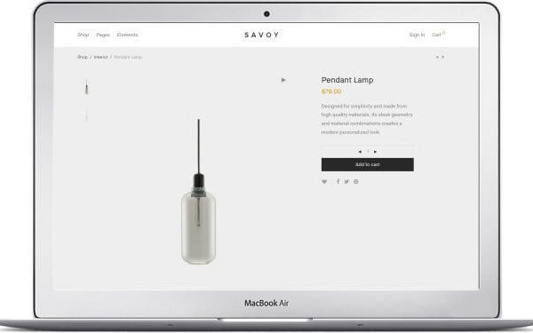 WooCommerce Design Produkte Shop Thema