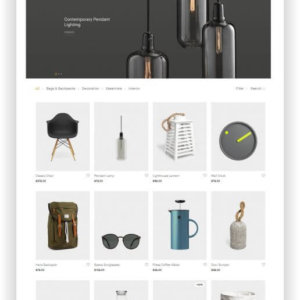 WooCommerce Design Produkte Shop Thema