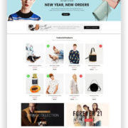 OpenCart 3.0 Fashion Shop Thema