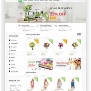 PrestaShop Supershop Thema