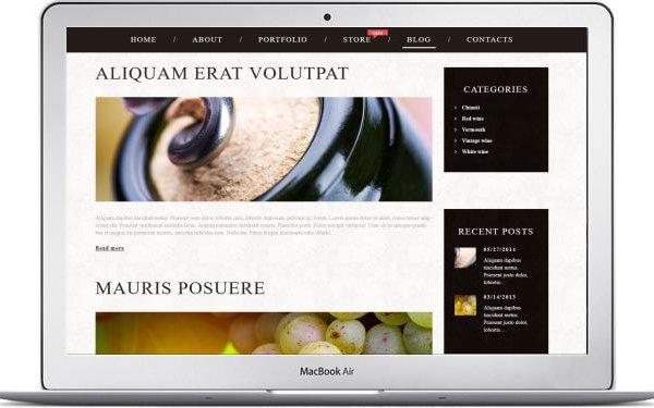 WooCommerce Wein Geschäft Webseite