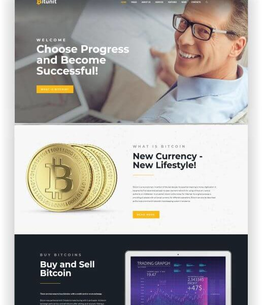 WordPress Bitcoin Blog