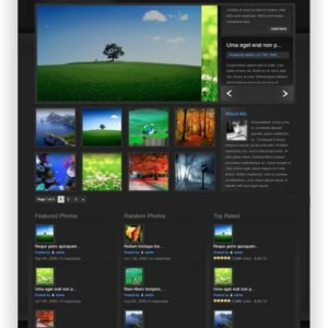 WordPress Fotoblog Thema
